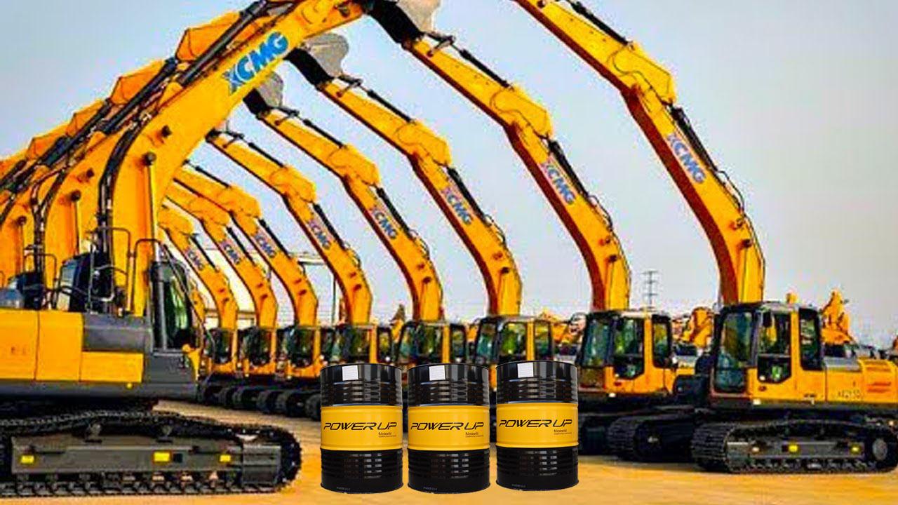 Dầu thủy lực AWS 68,46,32 Power Up cho máy xúc, hàng nhập khẩu, giá cạnh tranh