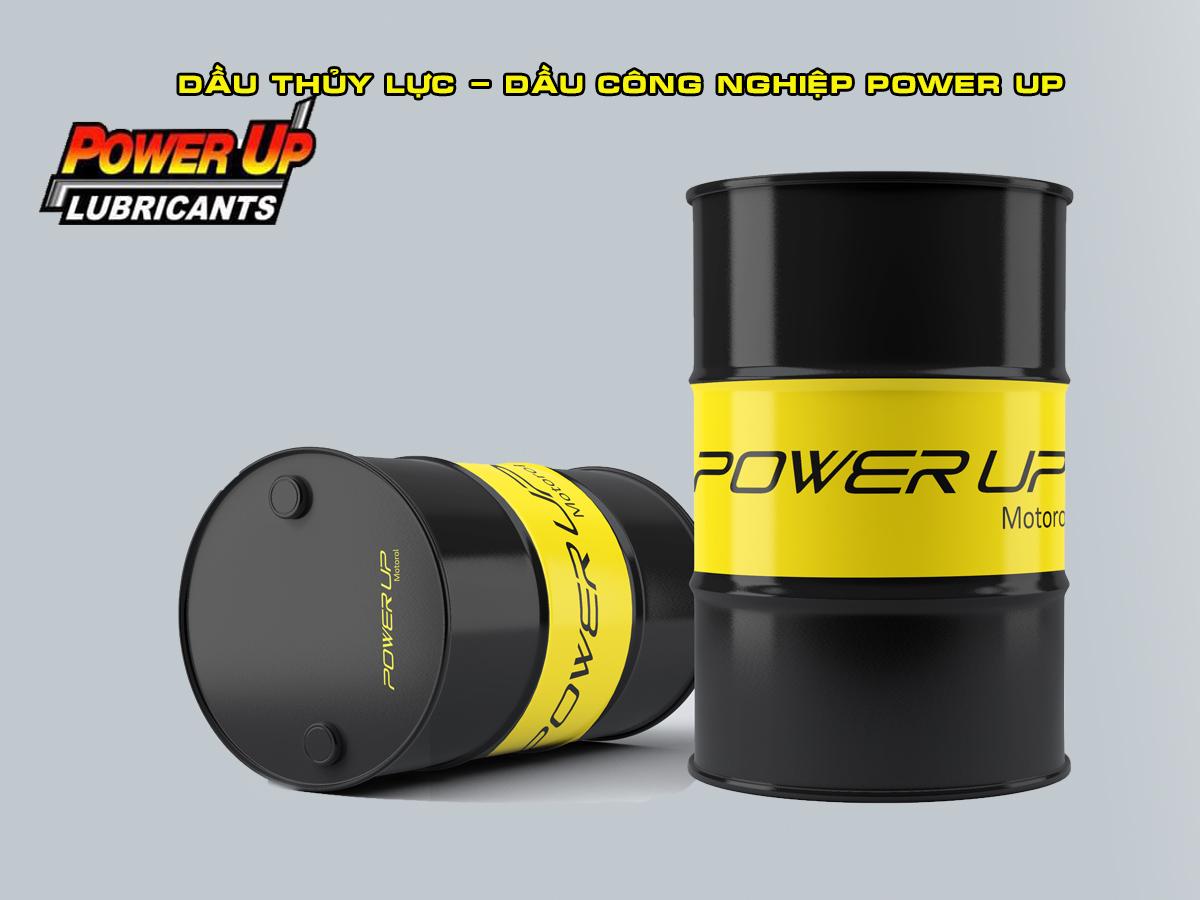 Dầu công nghiệp- dầu thủy lực Power Up