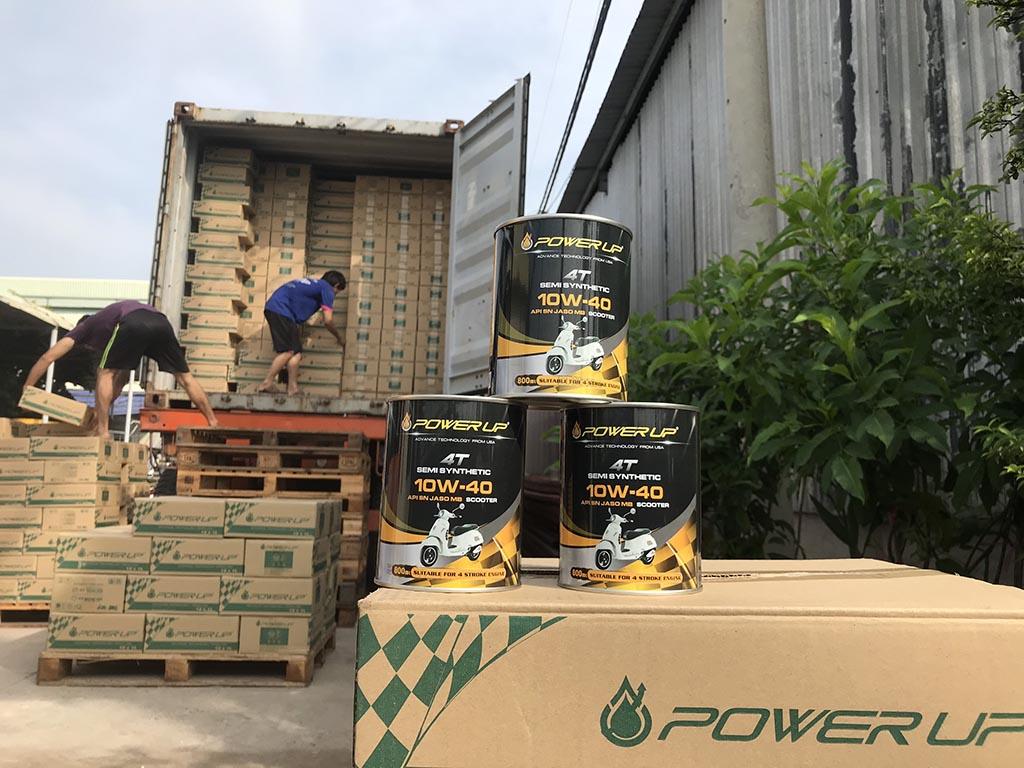 Đại lý dầu nhớt xe máy nhập khẩu cao cấp tại Vinh- Nghệ An